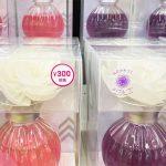 ダイソー「お花が色づくディヒューザー」300円
