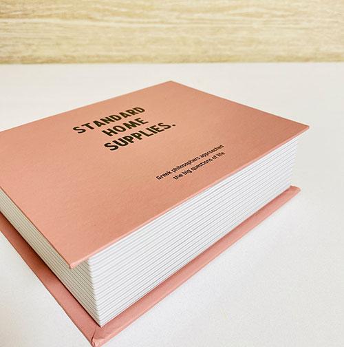 ペーパーボックスブック型