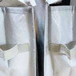 セリア 「クローゼット収納バッグ」バッグの整理に便利