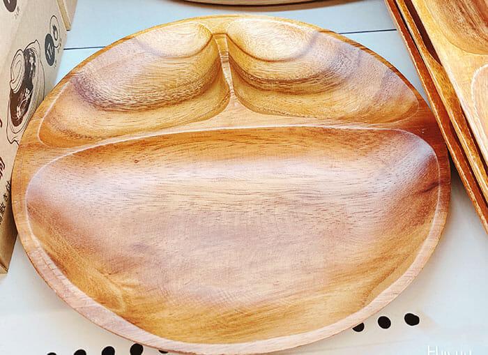 ダイソー キャンドゥ 可愛いオシャレな「アカシア食器」